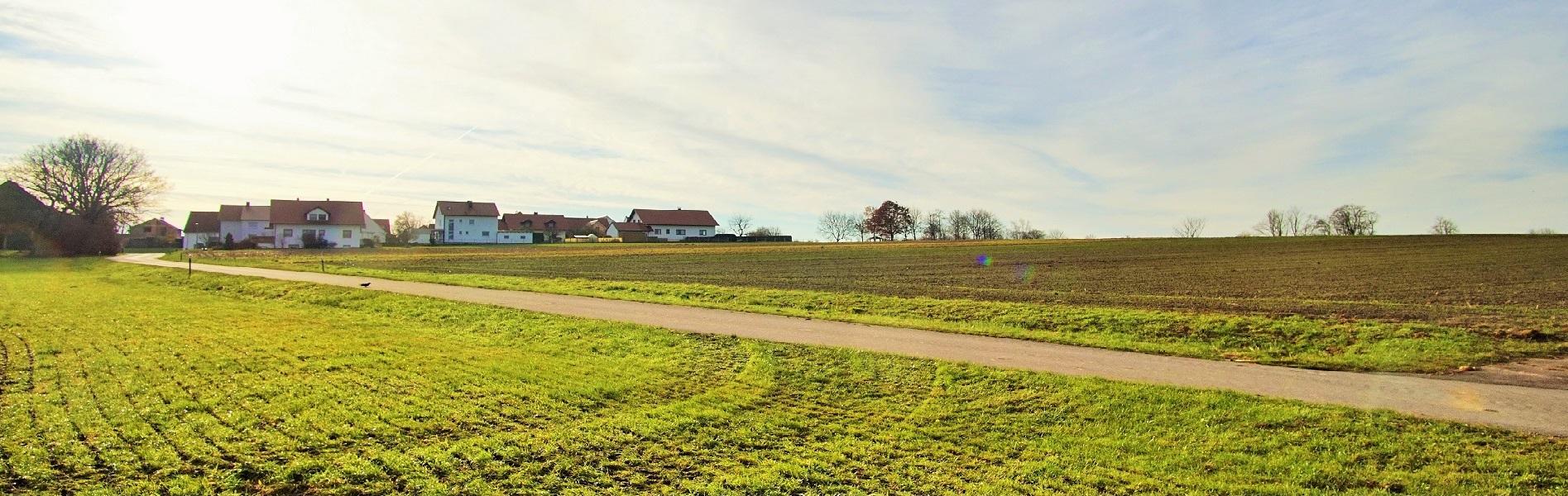 Hier entsteht das neue Baugebiet der Gemeinde Bibertal